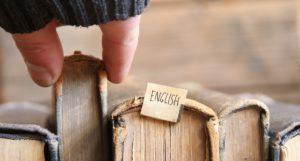Un livre en anglais