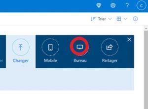 Installation de l'application OneDrive pour le bureau