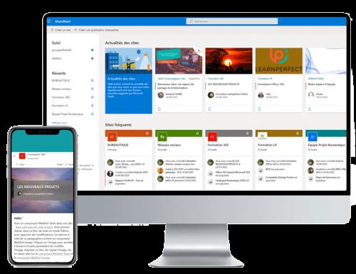 ecran-ordi-et-tel-logiciels-sharepoint